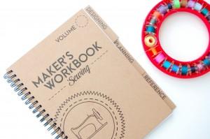 Maker's Workbook: Beautifully design sewing planner!