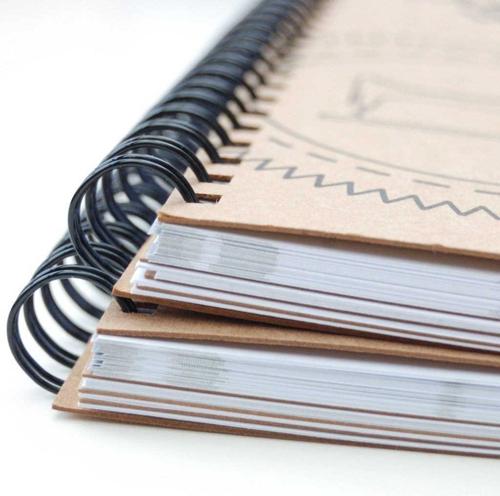 Sewing and knitting journals