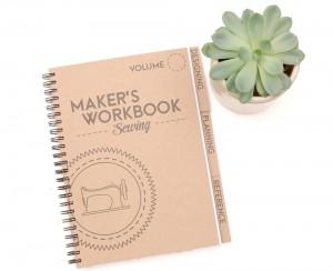 Maker's Workbook: Sewing Planner