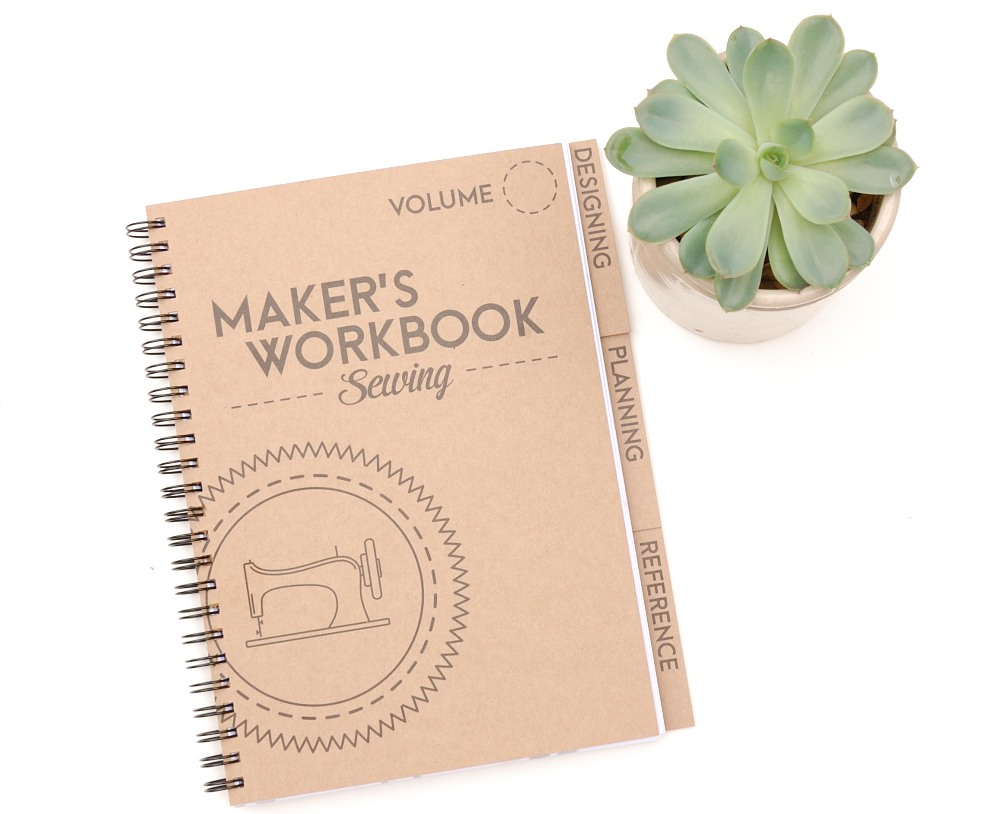Maker's Workbook: Sewing Planner