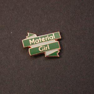 Sewing themed enamel pin UK