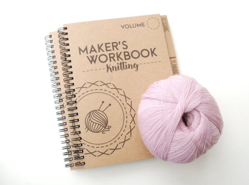 makers workbook knitting