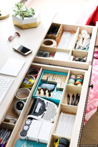 sewing drawers
