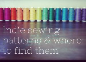 Where to find the best indie sewing patterns