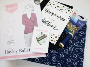 Sew Hayley Jane fabric subscription