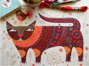 Embroidery kits for Christmas presents