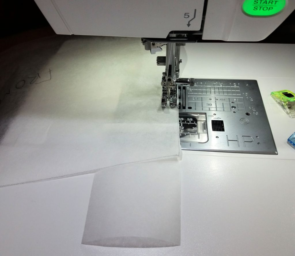 sewing with Swedish Tracing Paper