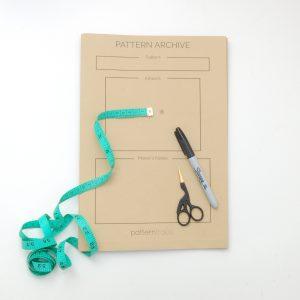 Sewing-pattern-storage-envelopes