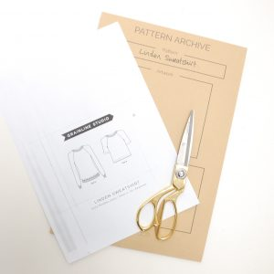Sewing-pattern-storage-envelopes
