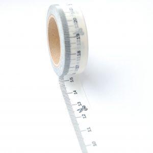 Measuring tape washi