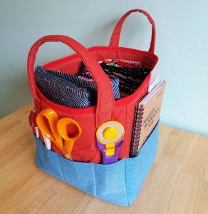 Maker's Box - craft storage basket/box