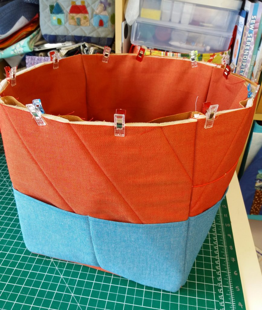 Craft caddy tutorial