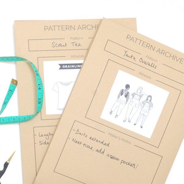 Sewing pattern storage envelopes (1)