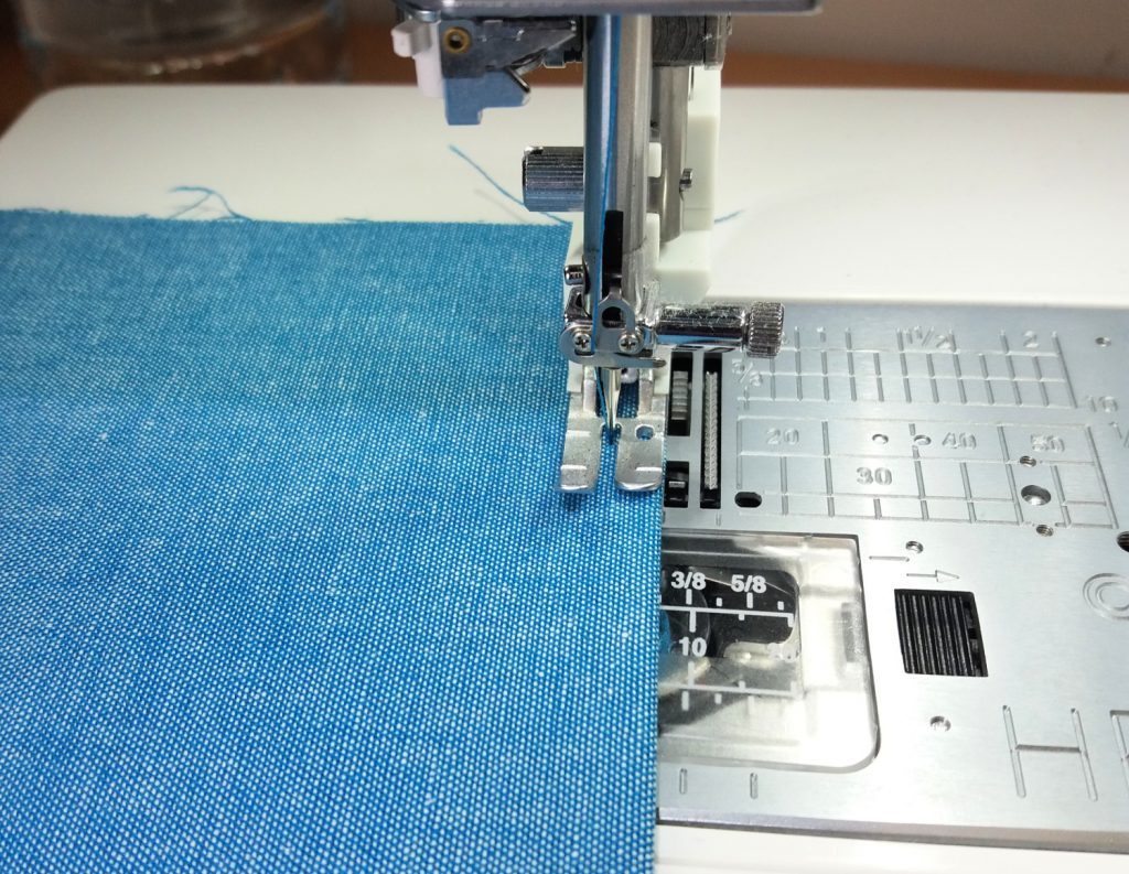 Topstitching pockets