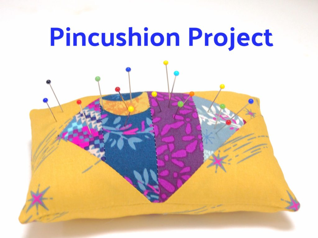 Free pincushion sewing project