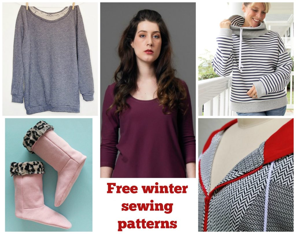 Free sewing patterns for winter clothing