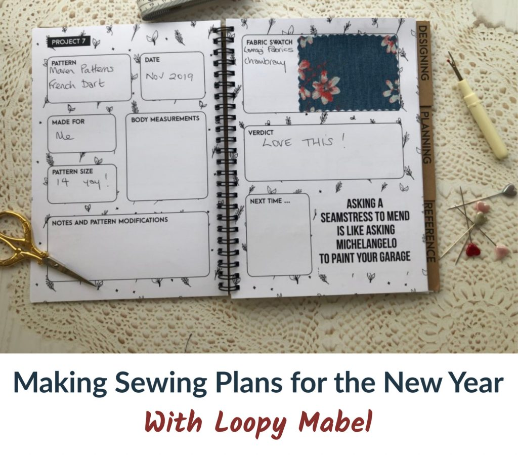Planning your sewing projects