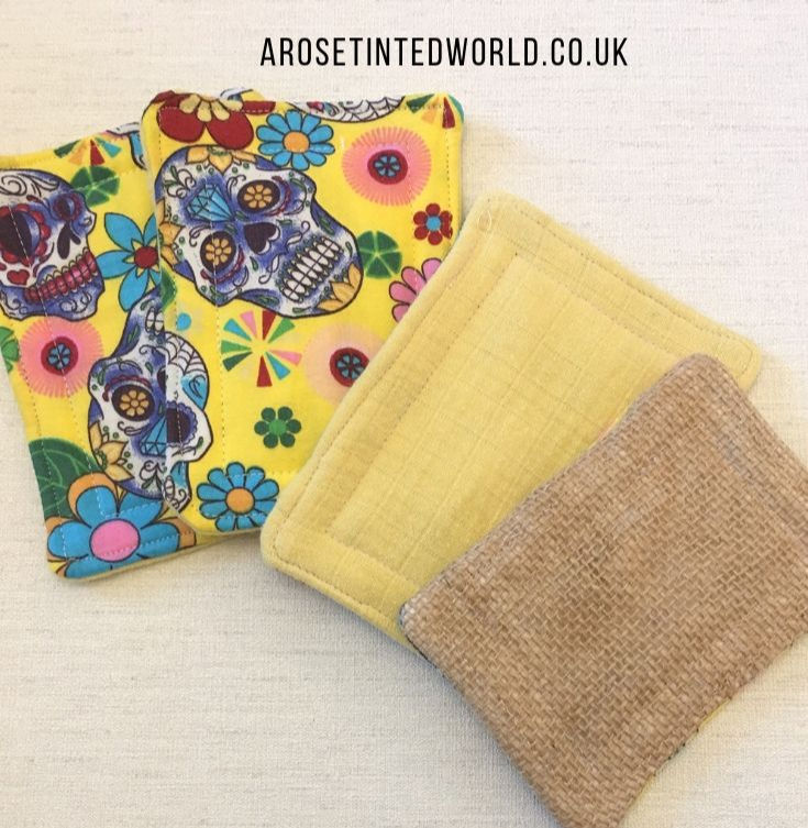 How to sew fabric sponges