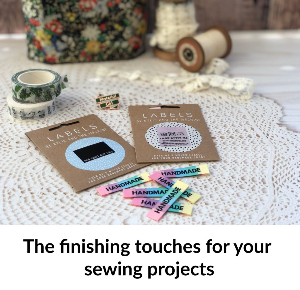 Adding the finishing touches to your sewing projects