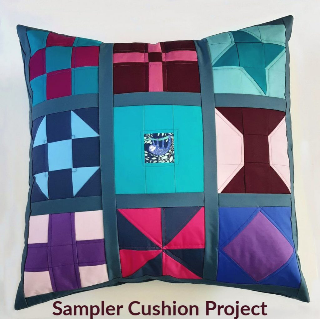 Sampler cushion project