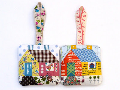 School house FPP quilt block