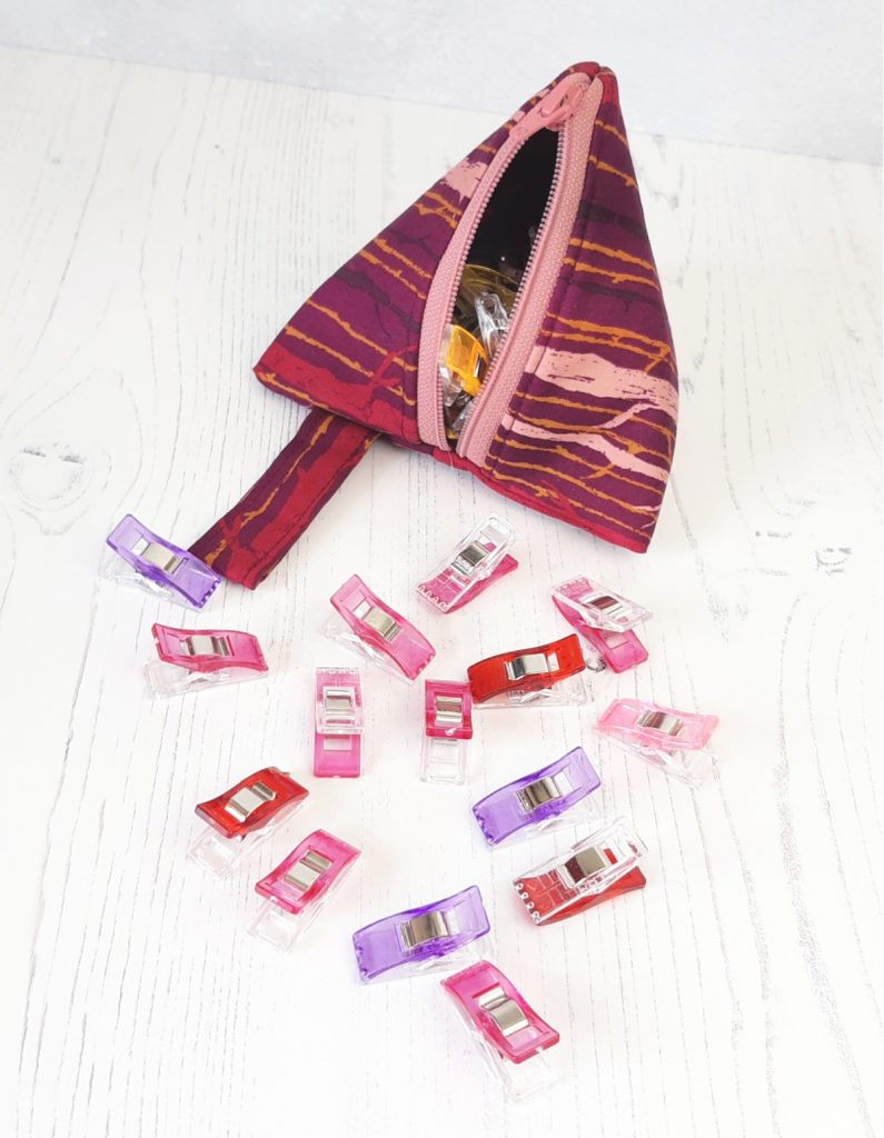 Storage for Wonder clips/sewing clips