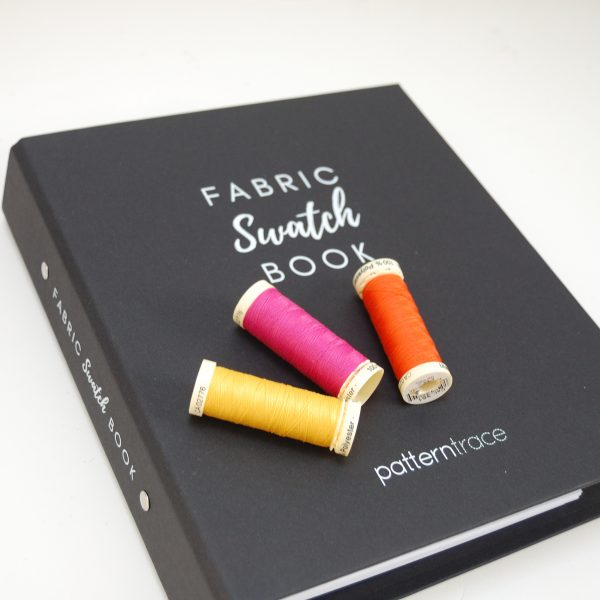 Swatch book for dressmakers