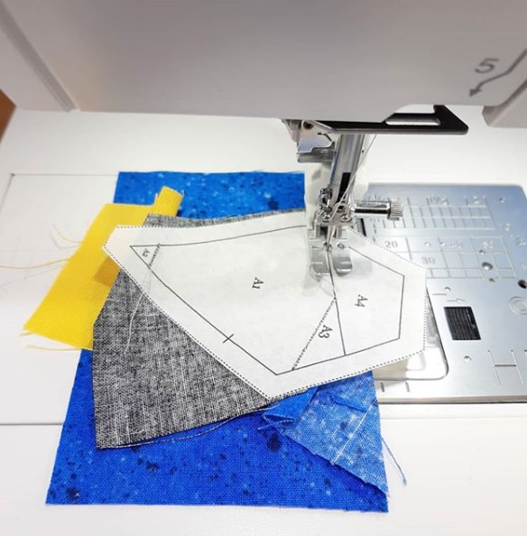 What is foundation paper piecing