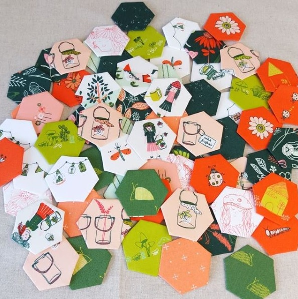 What is paper piecing?