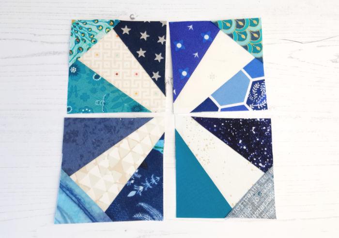 Making a quilt block