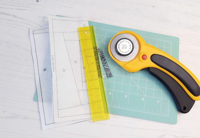 Easy foundation paper piecing blocks