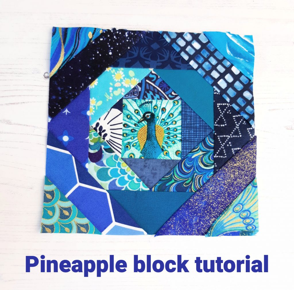 Free Pineapple block pattern
