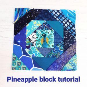 Free Pineapple block pattern