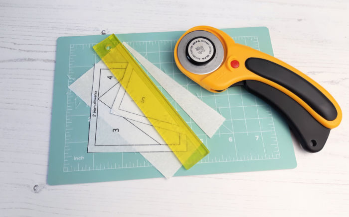 How to foundation paper piece