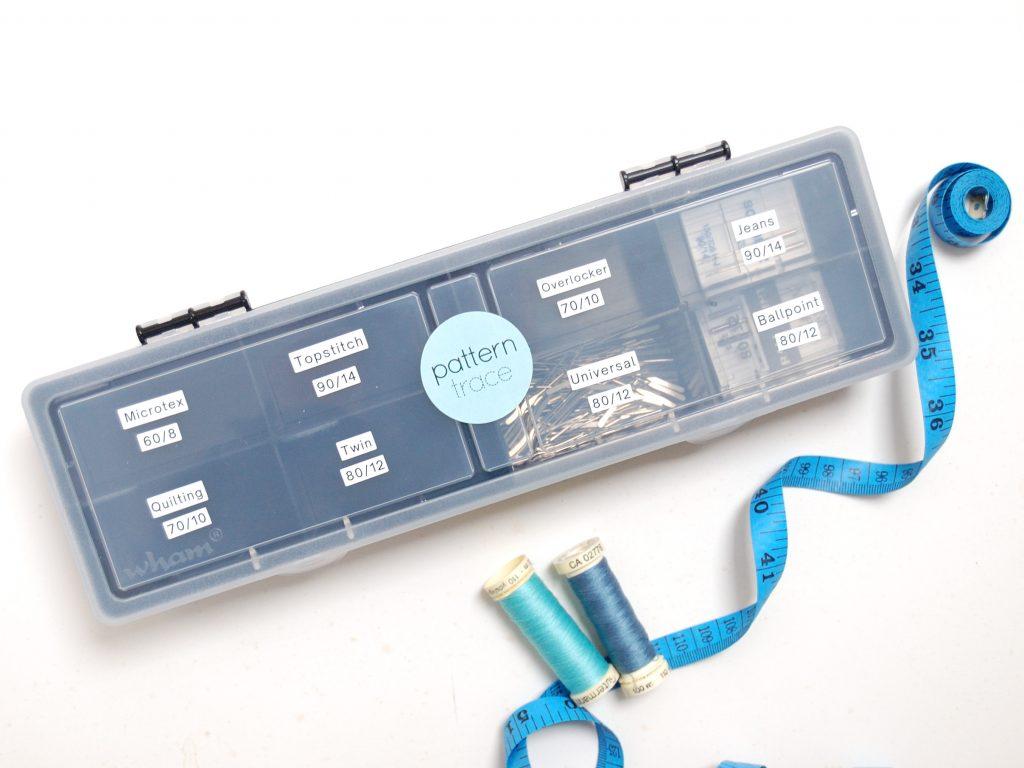 Needle storage box - organise your sewing machine needles