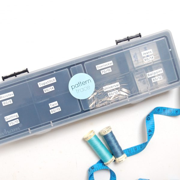 Needle storage box - organise your sewing machine needles