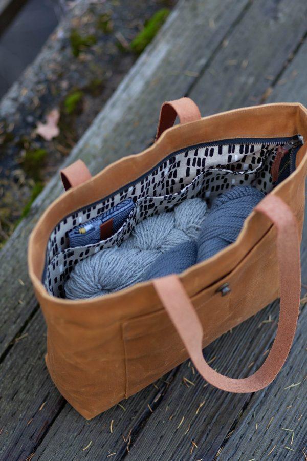 Pepin tote bag sewing pattern