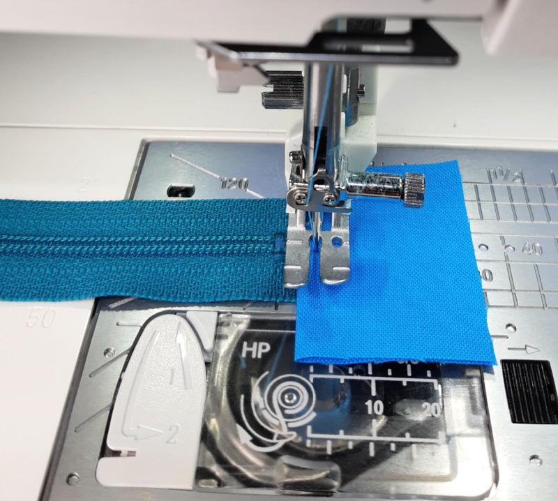 How to sew zip tabs