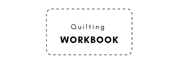 Quilting workbook journal
