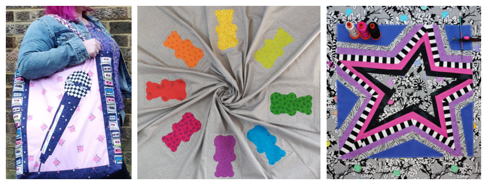 Fun foundation pieced patterns