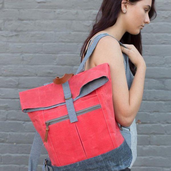 Range backpack sewing pattern
