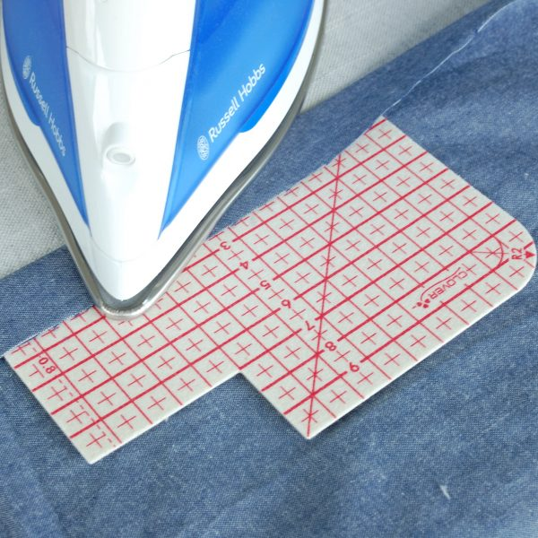 Accurate hem measure for dressmaking