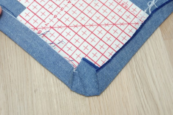How to press curved hems